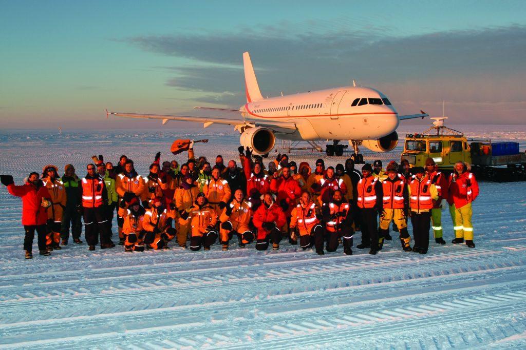 Airbus acj319-Antartide-50 1-anno-Airbus