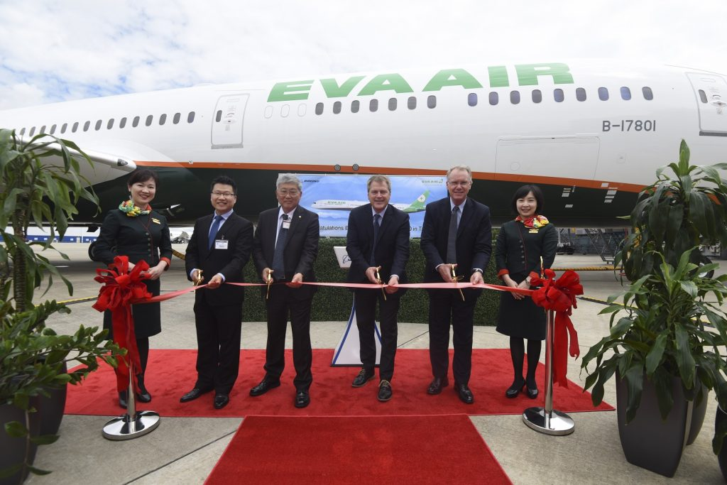Boeing 787-10-eva-air delivery