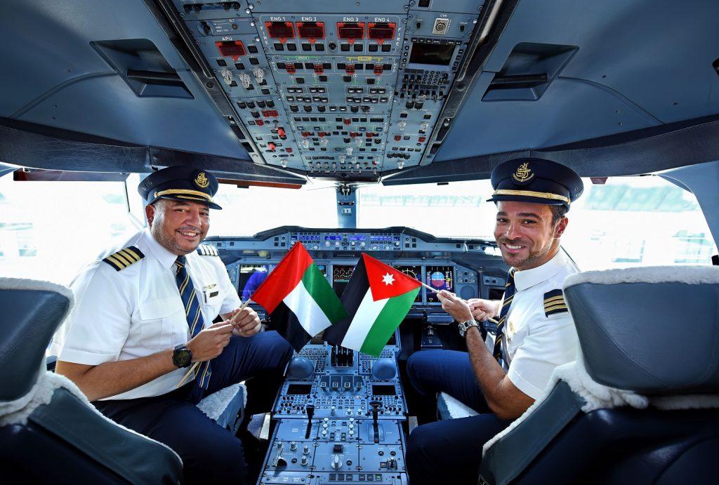 dubai-amman-a380-emirates-cockpit