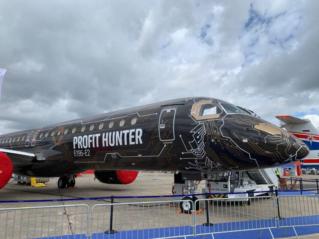 Embraer-195-e2-paris-air-show 2019-1