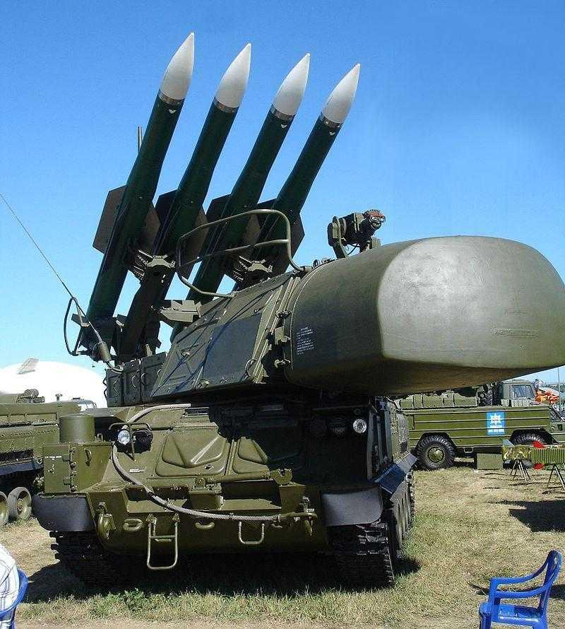 Rocket-system Buk-M1