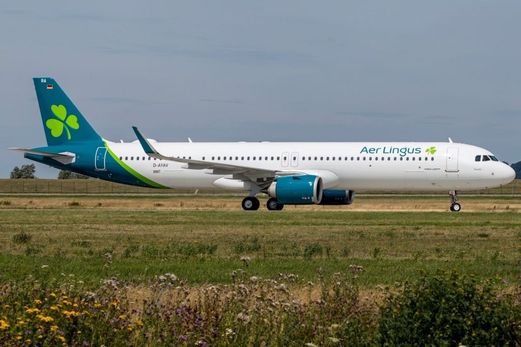 Airbus a321lr Aire Lingus
