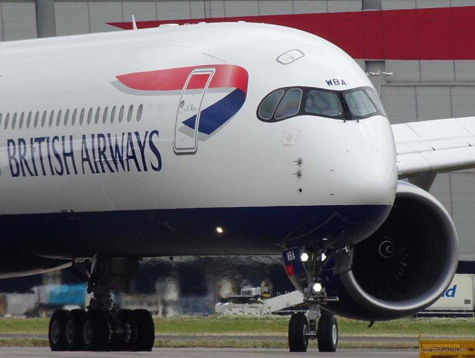 Airbus a350-1000-british-airways-front