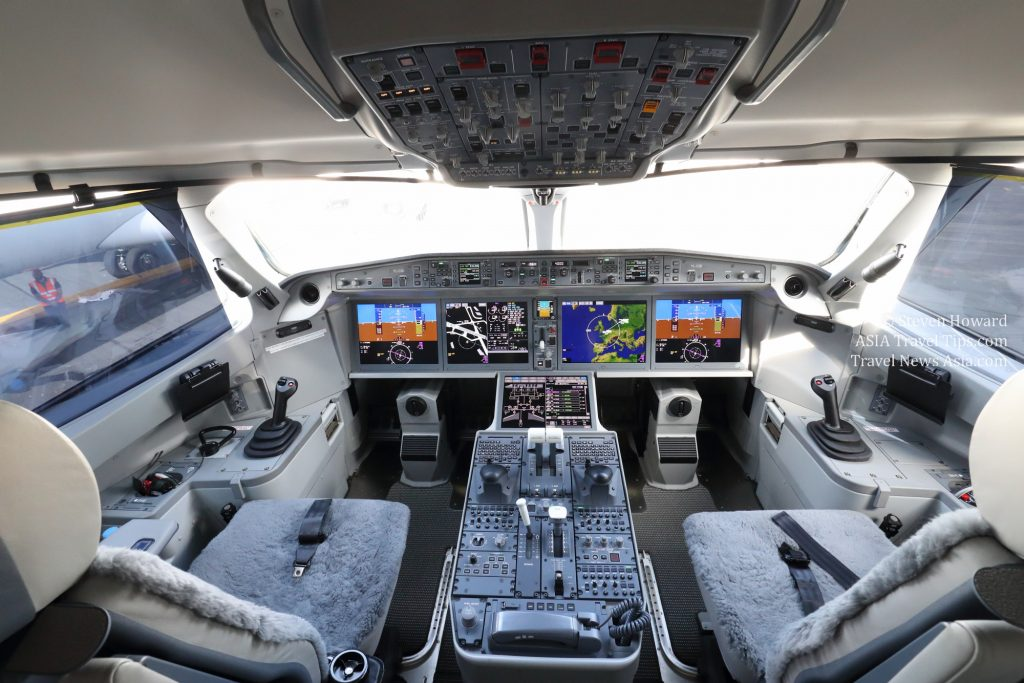 Airbus a220-300 kokpit