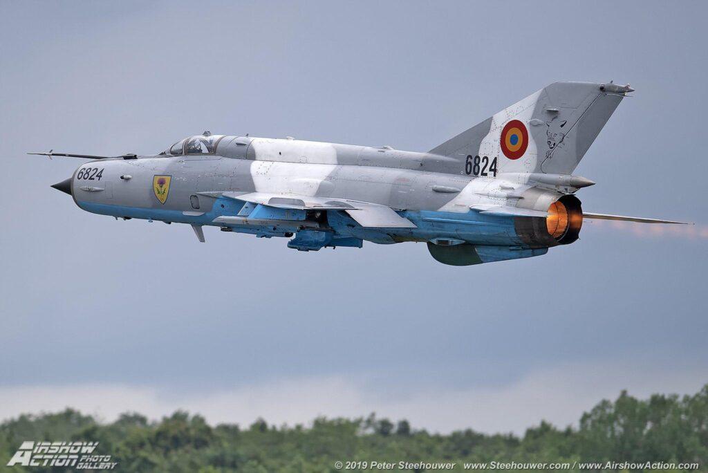 МИГ-21 фрилансер-сила воздух Роман-РМАТ-2019-эволюция-шоу