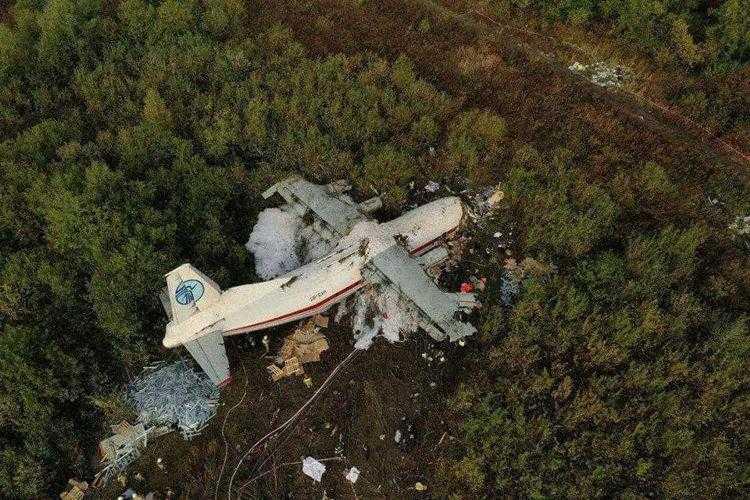 Antonov-an12-ur-CAH-collassato-Leopoli-1