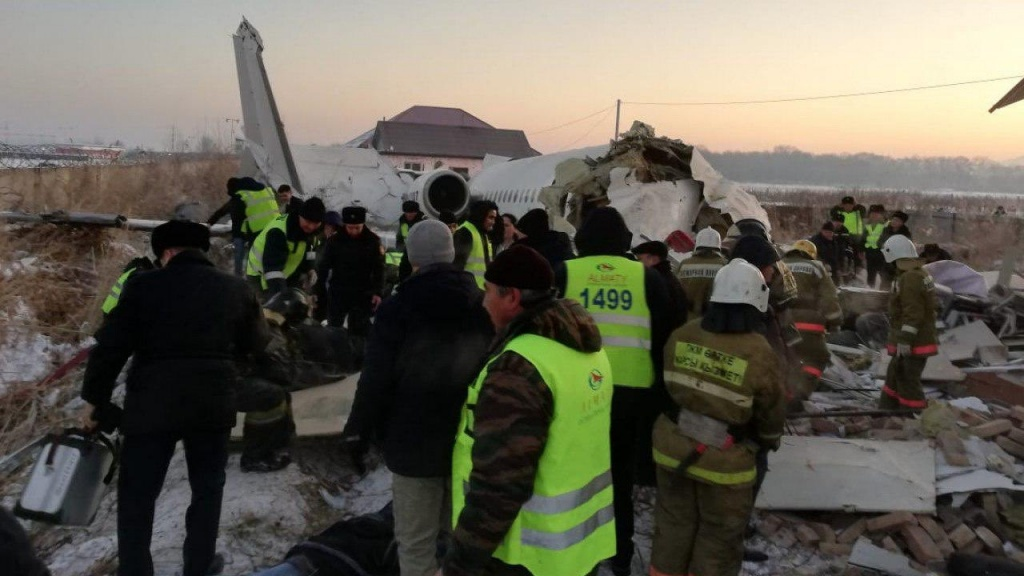 Aviation accident: Fokker 100 Bek Air, on flight Z92100. collapsed at takeoff