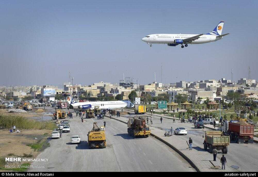MD-83 crash-iran