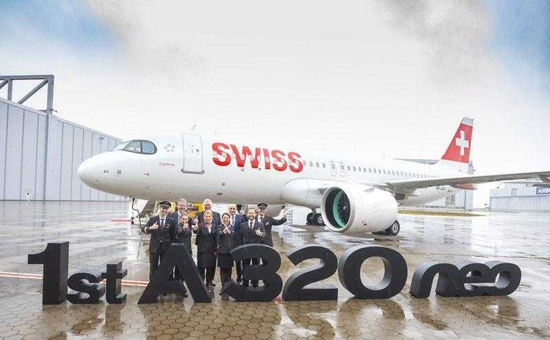 first airbus a320neo swiss