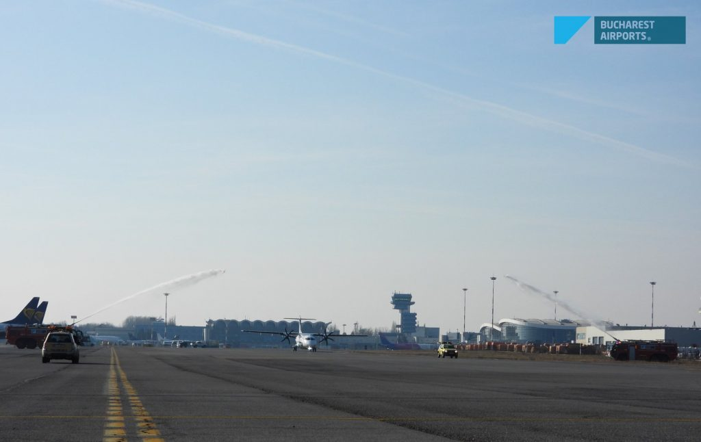 the greeting of the water cannons attr 72 600 tarom