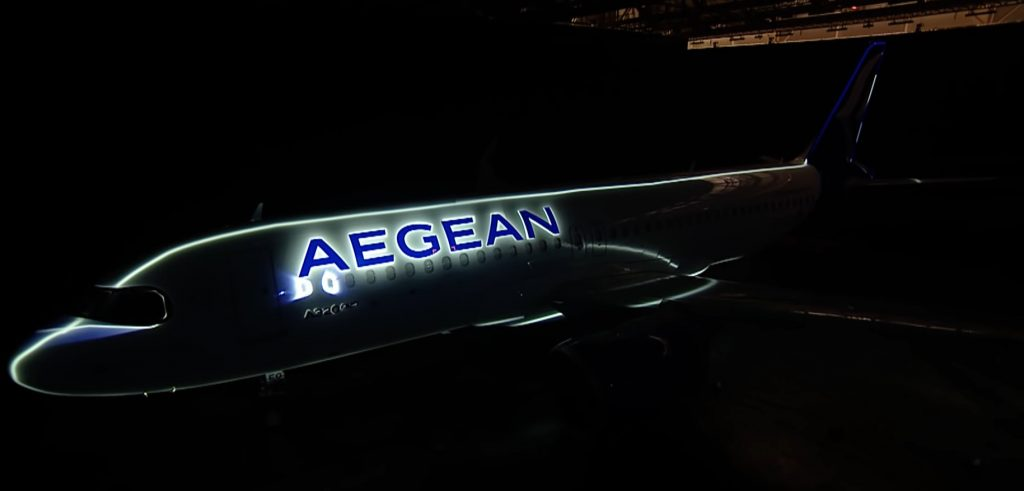 new aegean livery