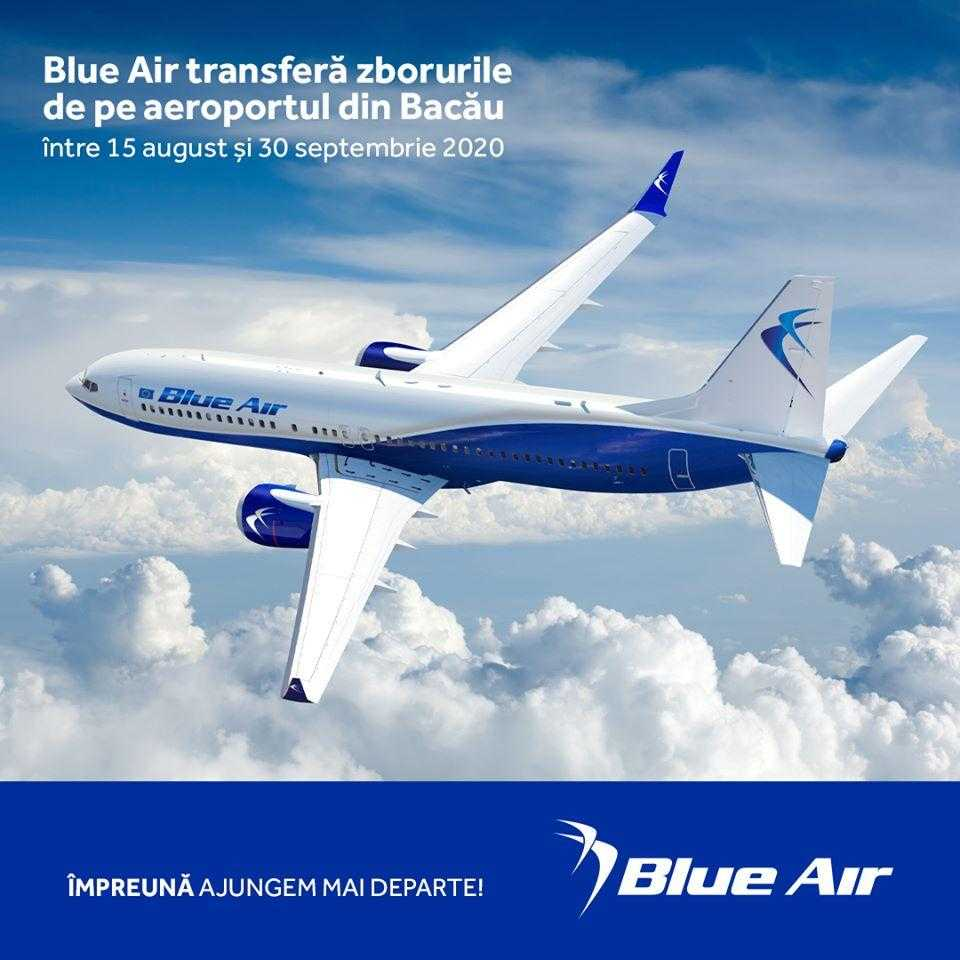voli blue air bacau