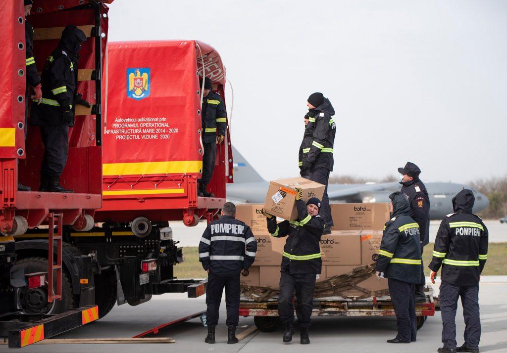 medical-equipment-Bucharest-c-17 transport