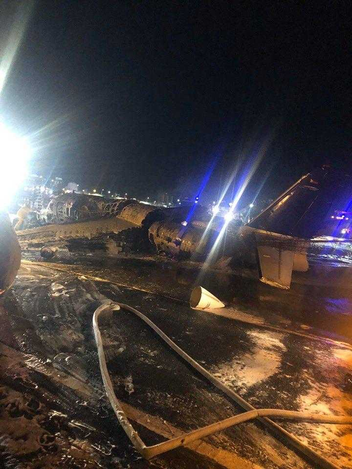 Unfall-Luft-manila-Flight-Shuttle