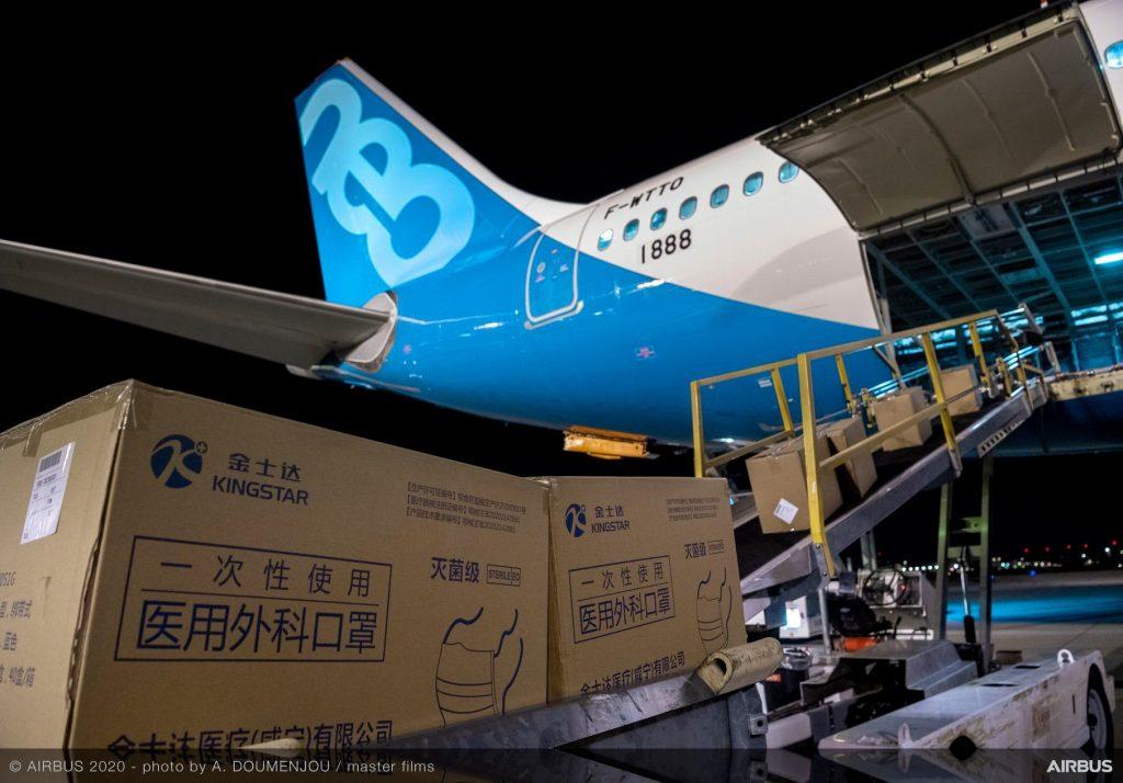 Airbus a330-800-Flüge-humanitäre