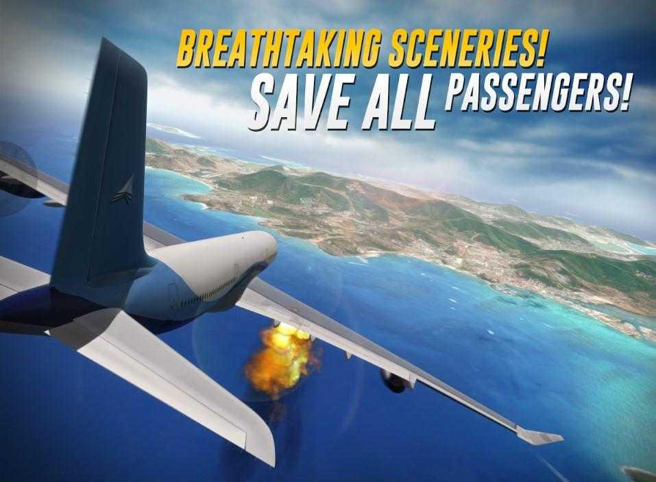 экстремальные посадки - игры на самолете