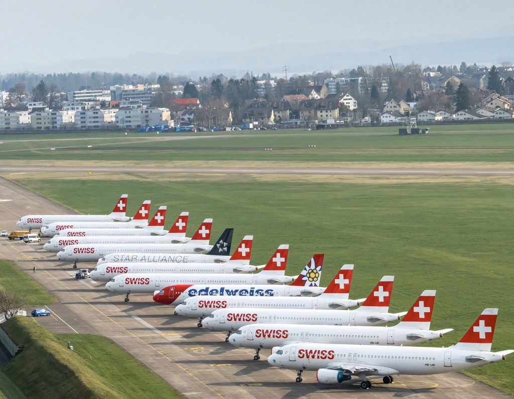 la flotta svizzera ha mantenuto il sole