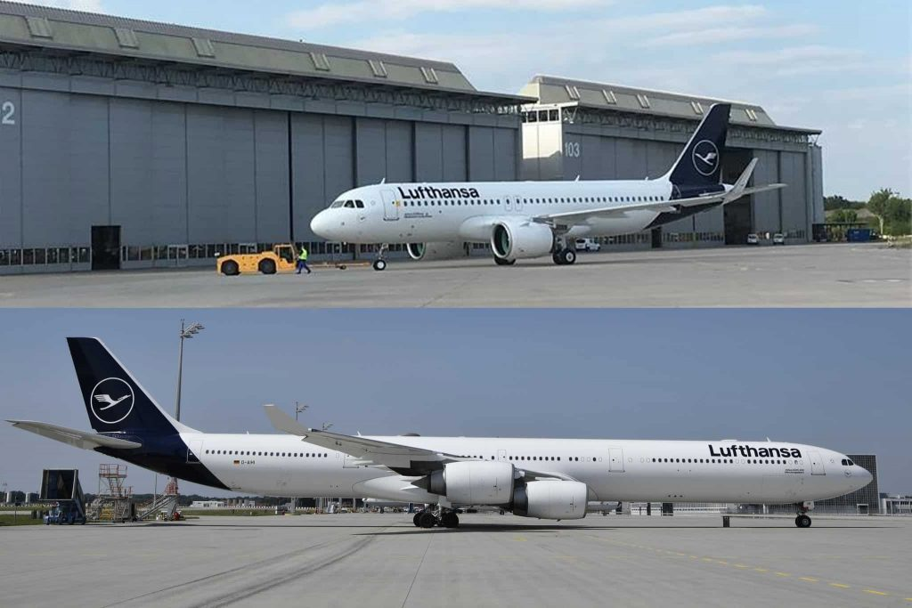 Lufthansa is restructuring