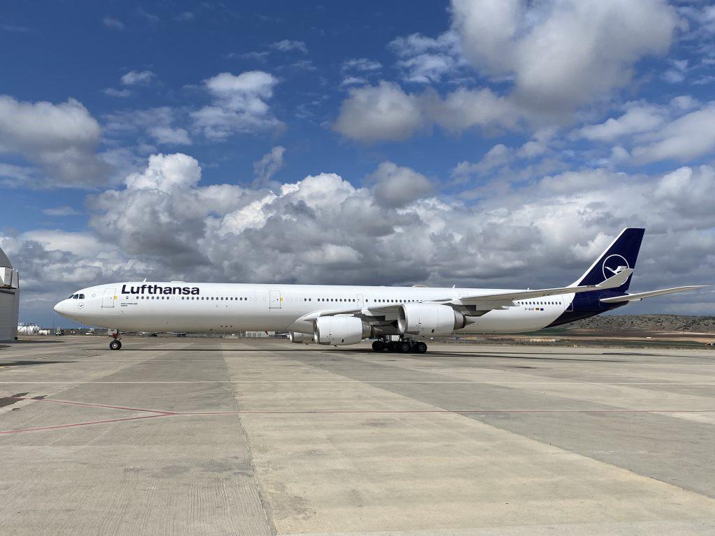 Lufthansa rinuncia all'A340-600