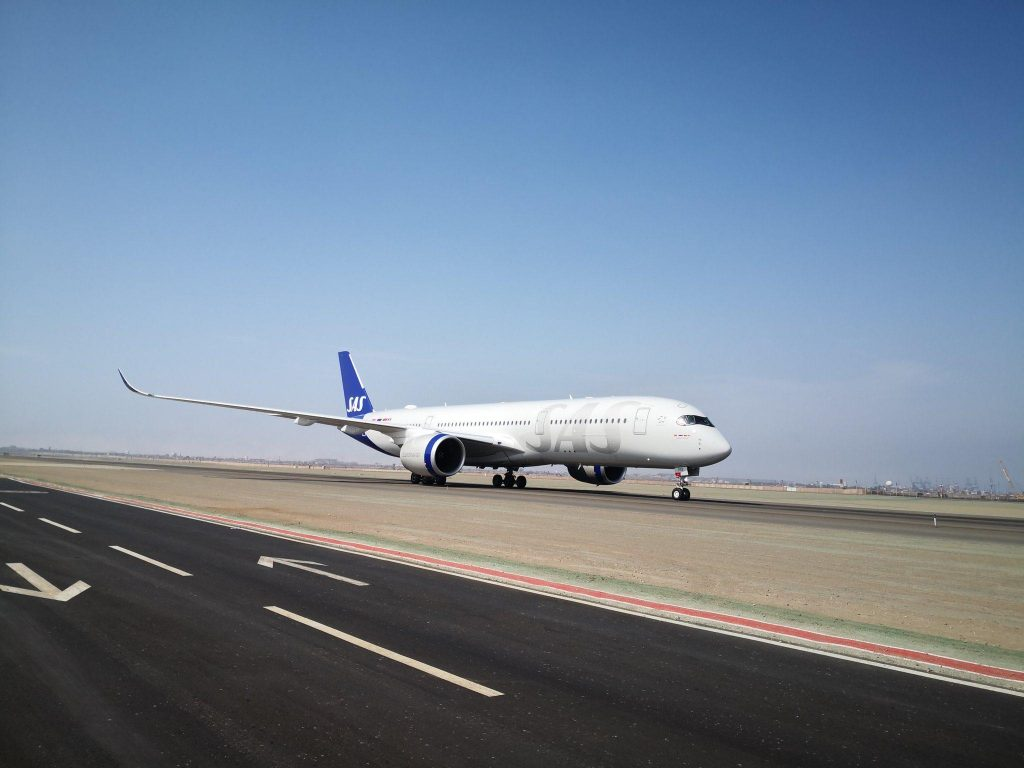 Copenhagen - Lima con Airbus A350 SAS