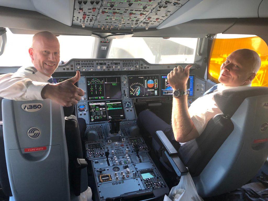 SAS a operat cel mai lung zbor non-stop din istoria sa
