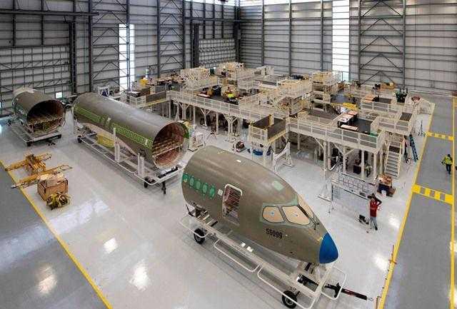 Airbus abre linha de montagem A220