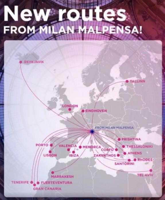 5 aviones Wizz Air y 20 nuevas rutas