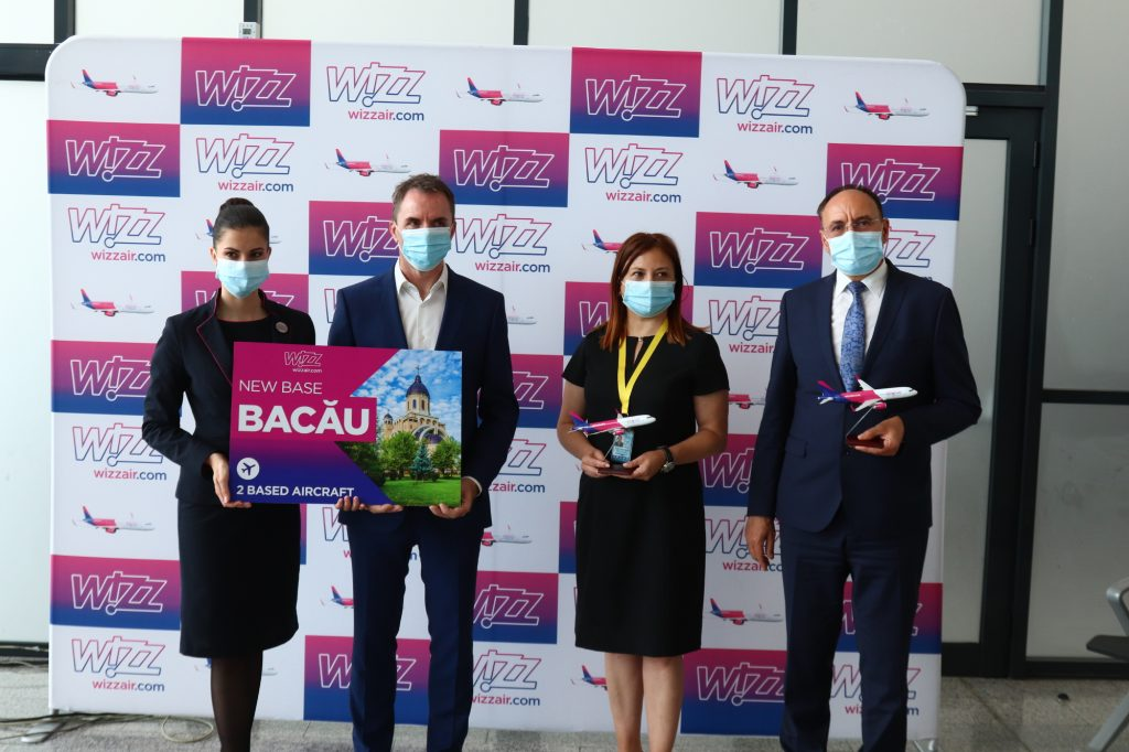 Base Wizz Air a Bacău