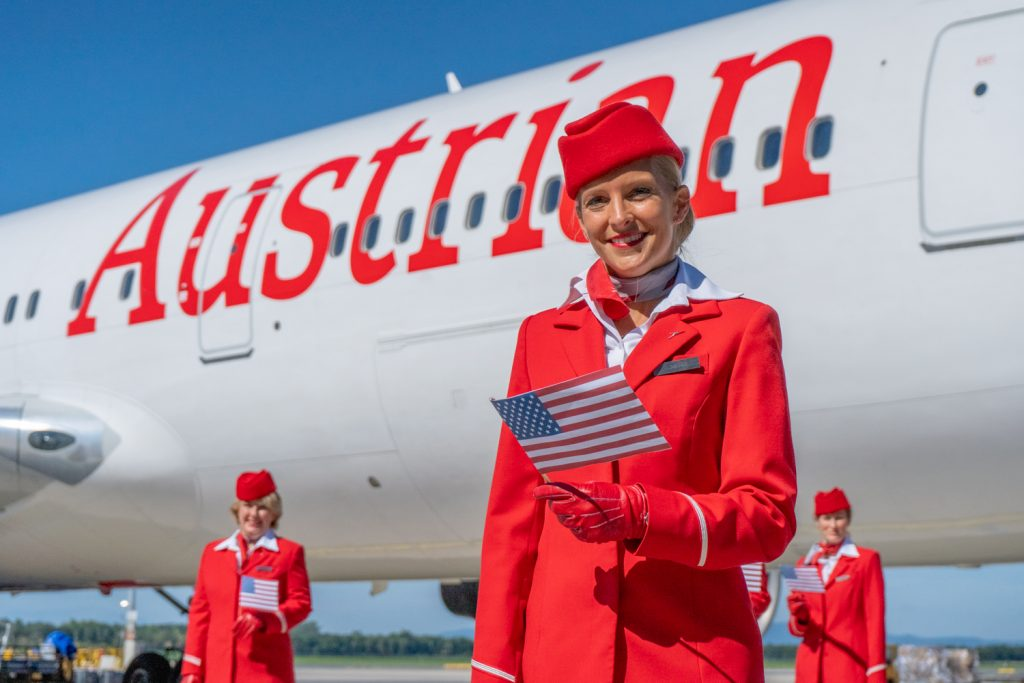 Austrian Airlines has resumed flights to the United States