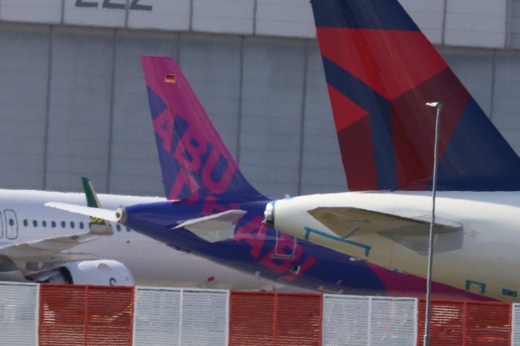 El primer Airbus A321 Wizz Air Abu Dhabi