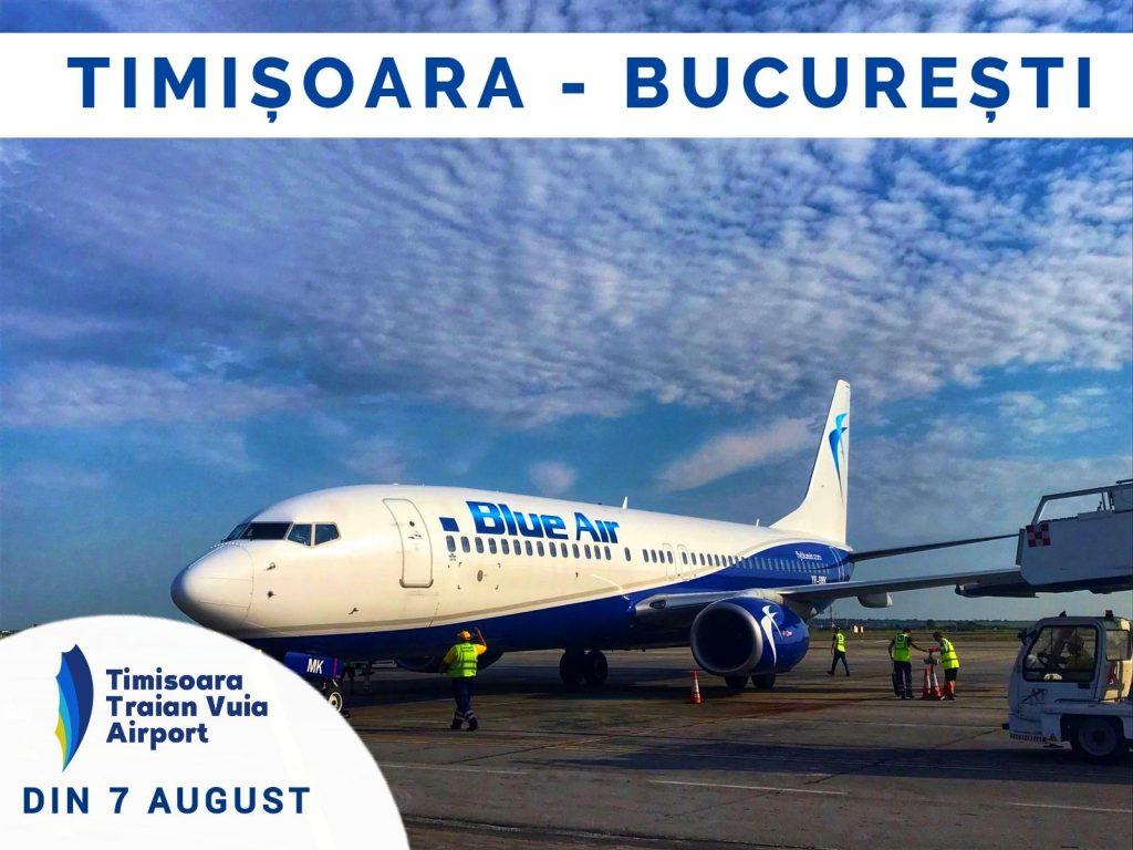 timisoara - bucharest mit blauer luft