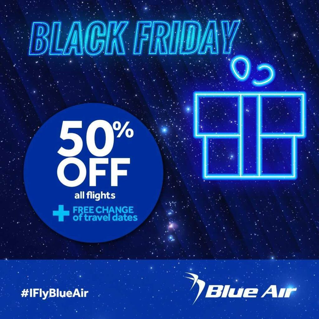 Blue Air - Promotion Black Friday