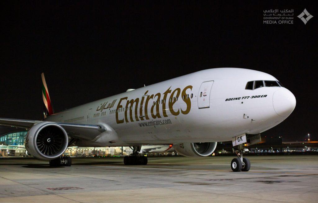 Emirates SkyCargo - COVID-19-Impfstofftransport