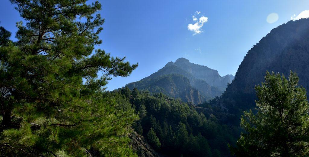Samaria-Greece canyon
