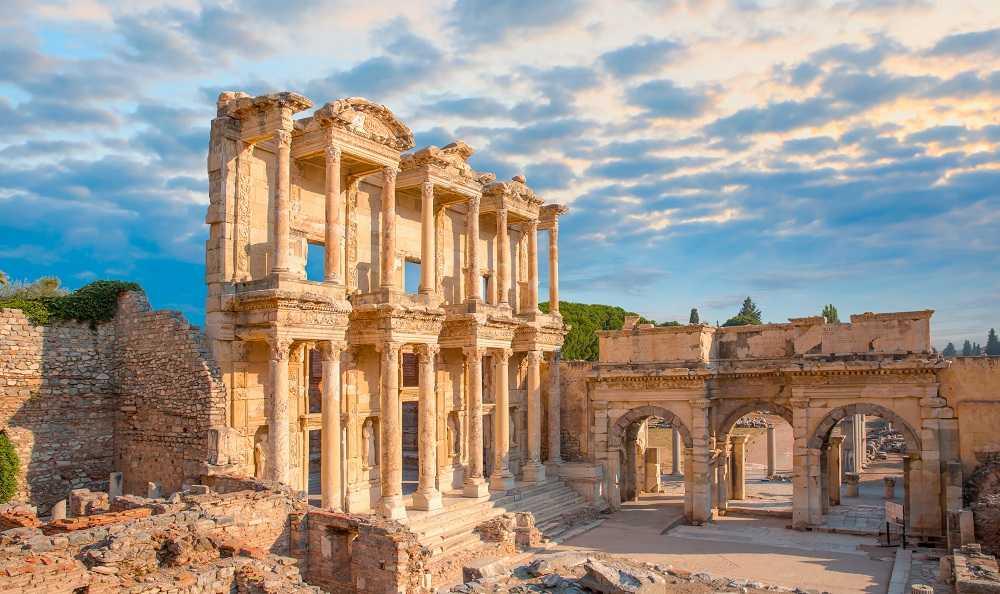 Bibliothek von Celsus von Ephesus