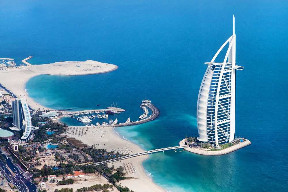 Burj Al Arab (Dubai, Emiratos Árabes Unidos)
