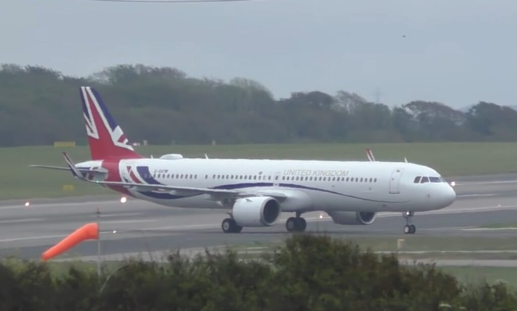 Airbus A321 Great Britain