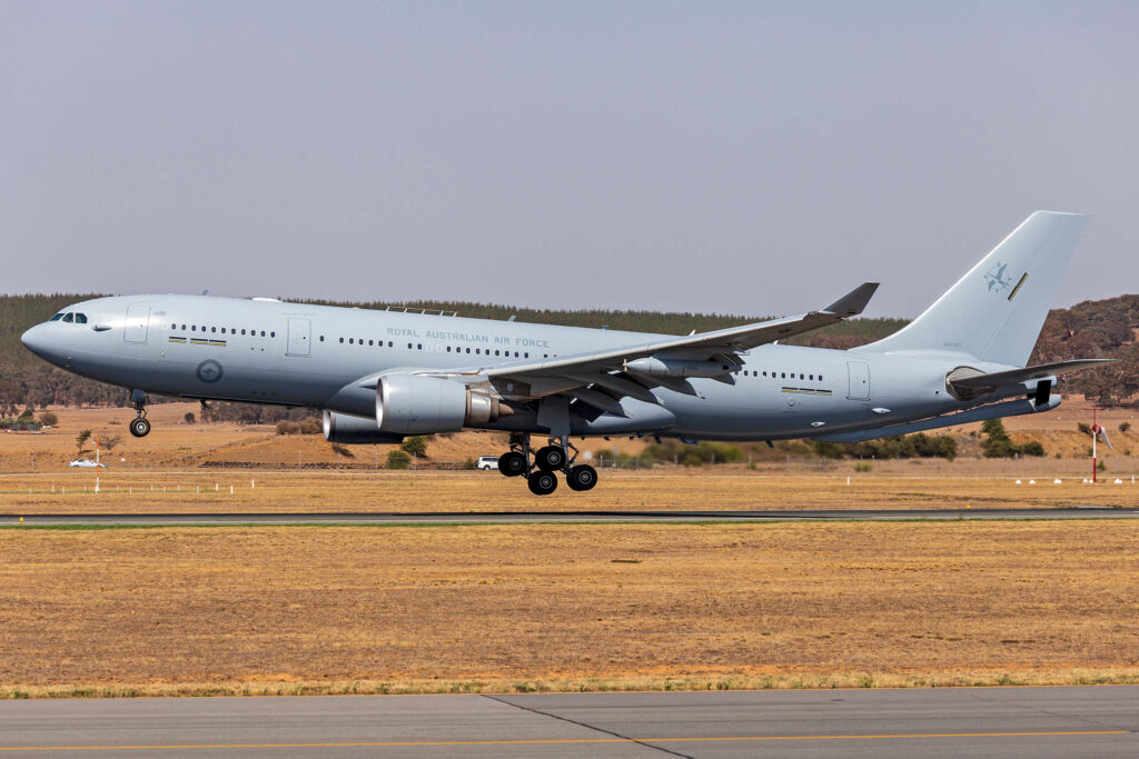Airbus KC-30A Multi-Role Tanker Transport from the Royal Australian Air Force