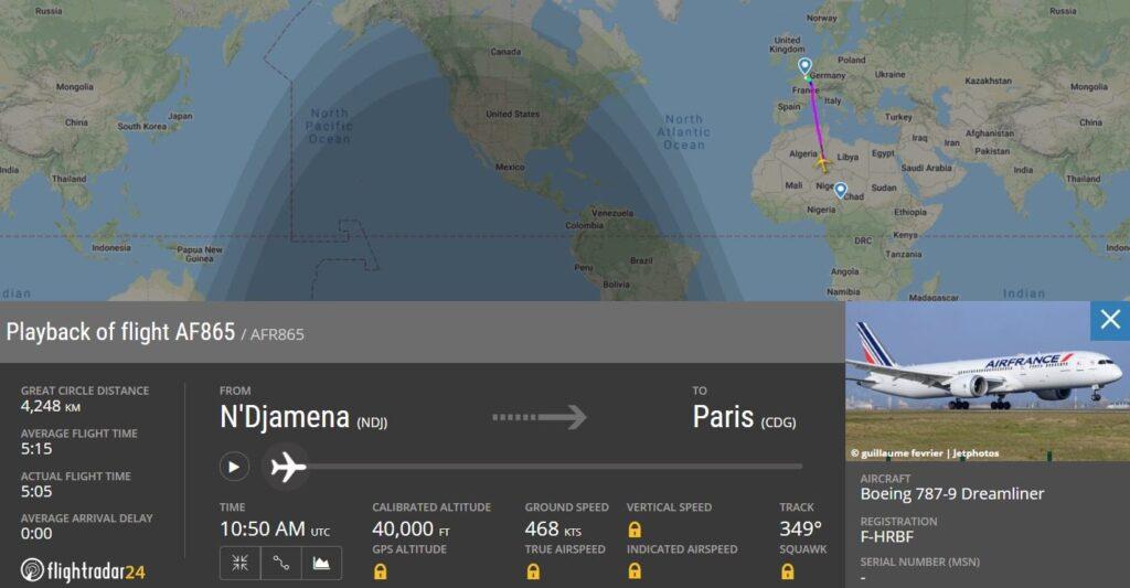 Угроза-бомба-полет-Эйр-Франс-1