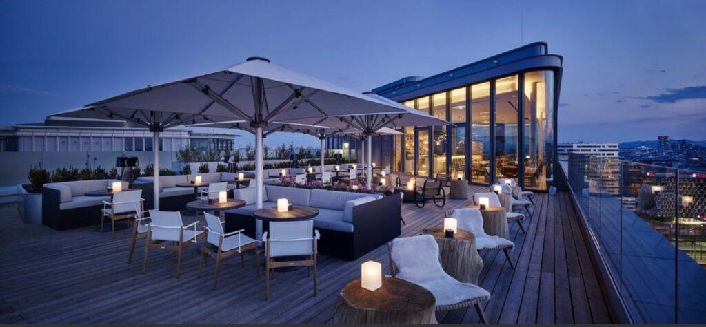 Aurora Rooftop Bar, Wien