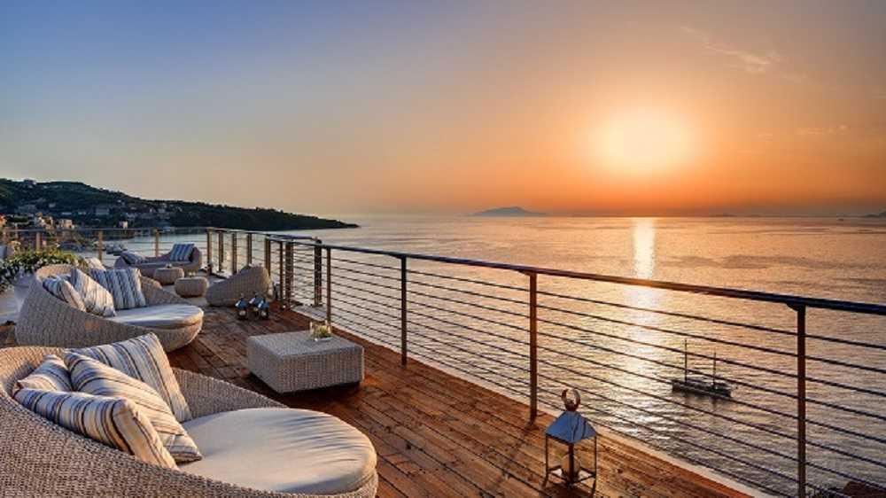 Vista Sky Bar, Hotel Mediterraneo Sorrento