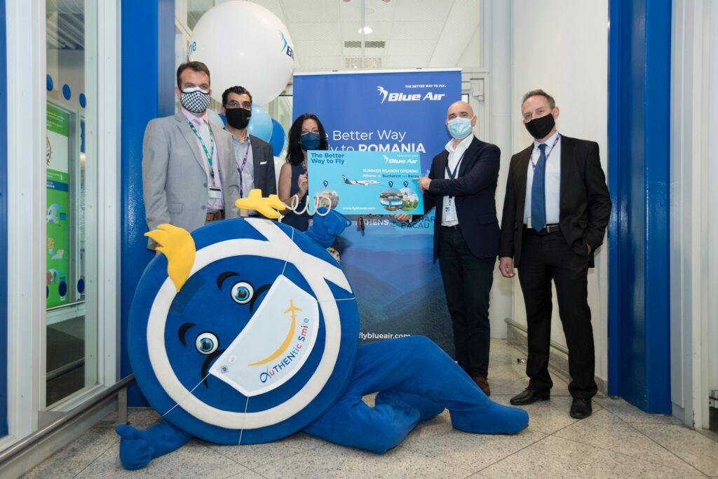 Blue Air este cel mai mare operator aerian între Grecia și România
