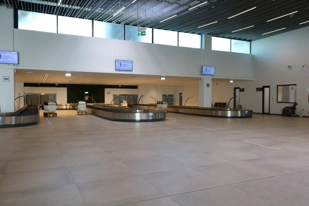 Il nuovo Terminal Arrivi Timisoara