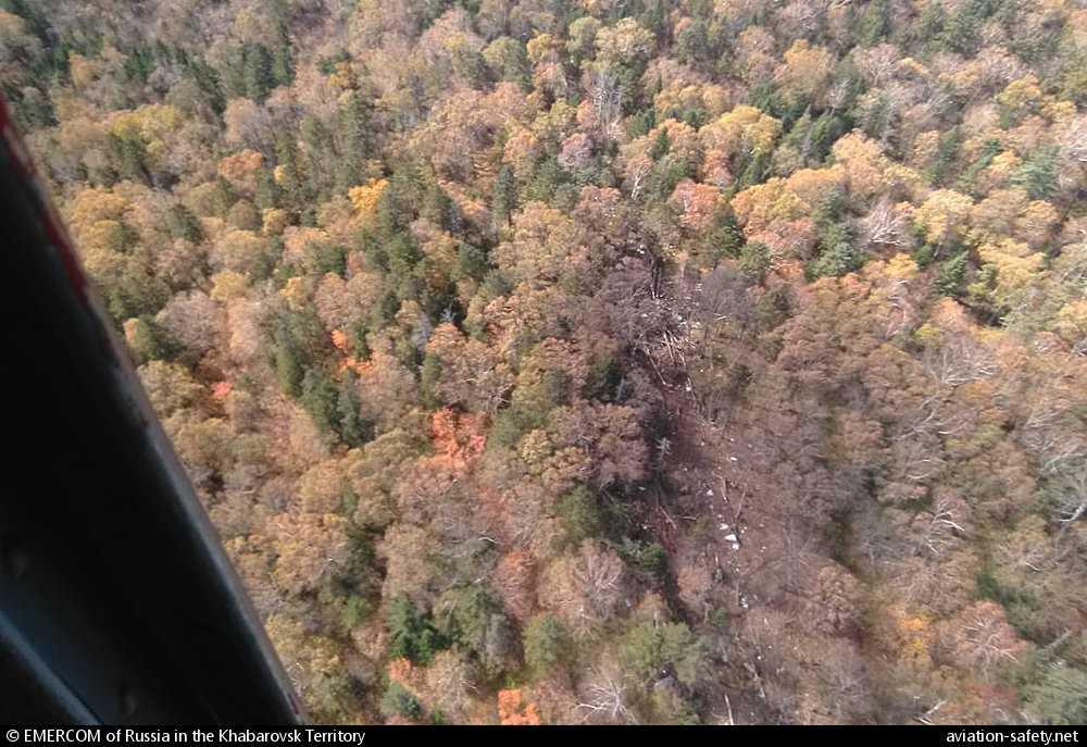 ¡No hay supervivientes en el caso del avión An-26 que se estrelló cerca de Khabarovsk!