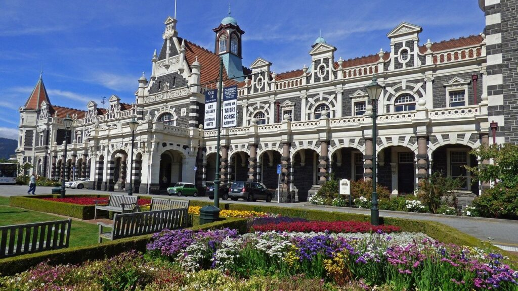 Stazione di Dunedin, Nuova Zelanda